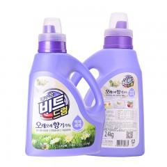 必衣芳香滚筒洗衣液  2.4kg/瓶