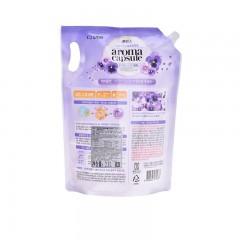 拂布柔丝 缓释胶囊式柔顺剂 紫罗兰香  2.1L/袋