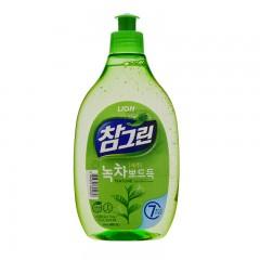 常绿秀手 绿茶洗涤剂 500g/瓶 21瓶/箱